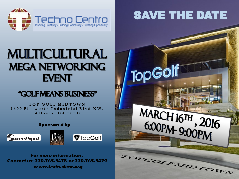 MultiCultural Mega Networking Event TechLatin